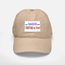 NO VOTE #3 Baseball Baseball Cap