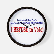 NO VOTE #3 Wall Clock