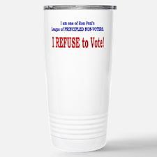 NO VOTE #3 Stainless Steel Travel Mug