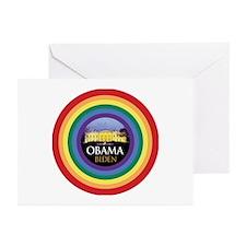 Obama-Biden Gay Pride 38 Greeting Cards (Pk of 10)