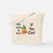 Hit/Girl (tennis 2) Tote Bag