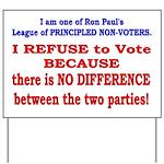 No VOTE #2 Yard Sign