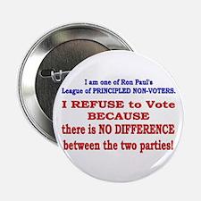 """No VOTE #2 2.25"""" Button"""