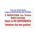 No VOTE #2 Mini Poster Print