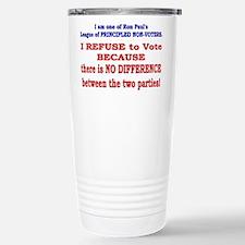 No VOTE #2 Stainless Steel Travel Mug