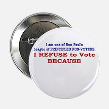 """NO VOTE #1 2.25"""" Button"""