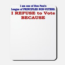 NO VOTE #1 Mousepad