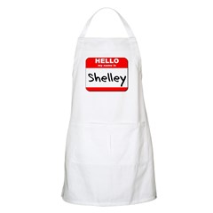 Hello my name is Shelley BBQ Apron
