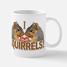 I Heart / Love Squirrels! Mug