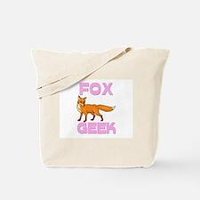 Fox Geek Tote Bag