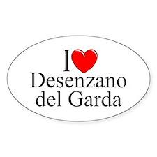 """I Love (Heart) Desenzano del Garda"" Decal"