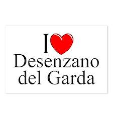 """I Love (Heart) Desenzano del Garda"" Postcards (Pa"