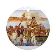 Funny Moses Ornament (Round)