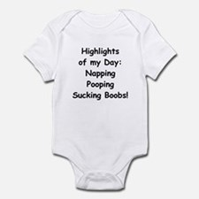 Boobs - Highlight of Baby Day Baby Body Suit
