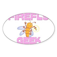 Firefly Geek Oval Decal