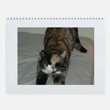 Calico Cat Wall Calendar