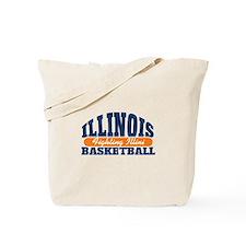 Fighting Illini Basketball Tote Bag