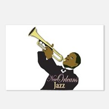 New Orlean's Jazz Postcards (Package of 8)
