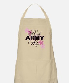 Proud Army Wife BBQ Apron