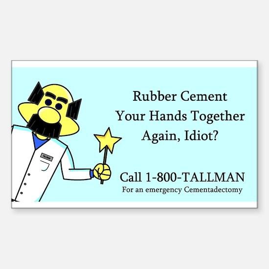 """Dr. Tallman"" Decal"