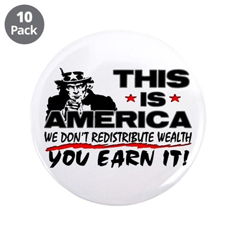 """""""This Is America!"""" Button (10 pack)"""
