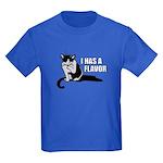 I Has A Flavor Kids Dark T-Shirt