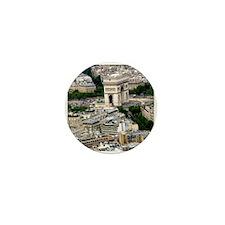 Arc de Triomphe from Eifel Mini Button