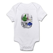 """The Caterpillar """"Who Are You?"""" Infant Bodysuit"""
