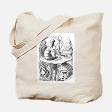 """The Caterpillar """"Who Are You?"""" Tote Bag"""