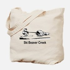 Ski Beaver Creek CO Tote Bag