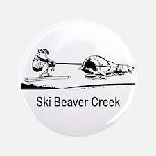 "Ski Beaver Creek CO 3.5"" Button (100 pack)"