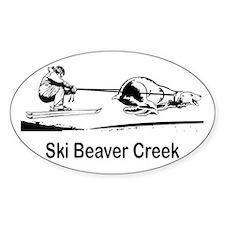 Ski Beaver Creek CO Oval Decal