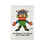 ZOOMER! Let's Play! Rectangle Magnet (10 pack)