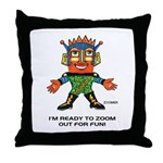ZOOMER! Let's Play! Throw Pillow