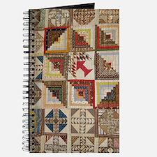 Vintage Underground Rairoad Quilt Journal