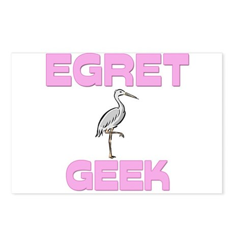 Egret Geek Postcards (Package of 8)