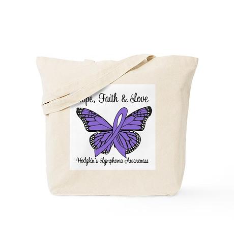 Hodgkin's Disease Hope Tote Bag