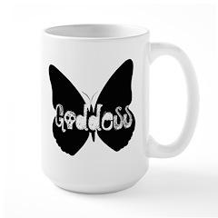 Goddess Butterfly Large Mug