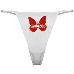Goddess Butterfly Classic Thong