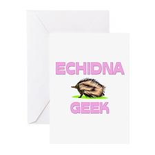 Echidna Geek Greeting Cards (Pk of 10)