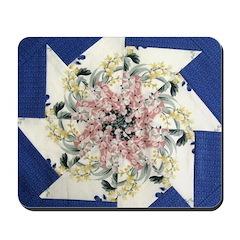 Pinwheels In Floral Mousepad