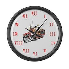Bike Barn Large Wall Clock