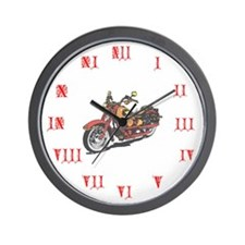 Bike Barn Wall Clock