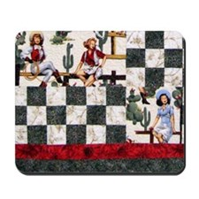 Trudy's Cowgirls Mousepad
