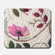 Wild pink rose Mousepad