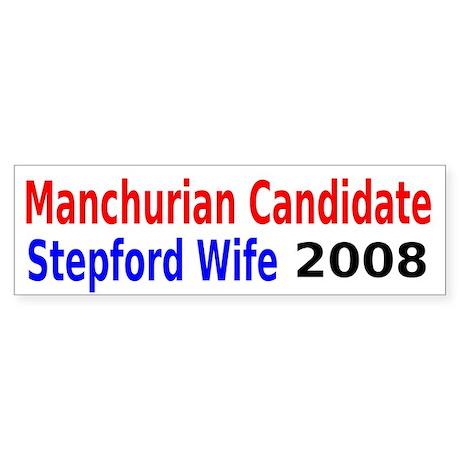 Manchurian Candidate Bumper Sticker (10 pk)