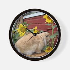 Unique Fuzzy lop Wall Clock