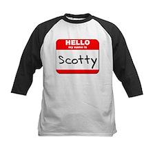 Hello my name is Scotty Tee