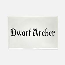 Dwarf Archer Rectangle Magnet