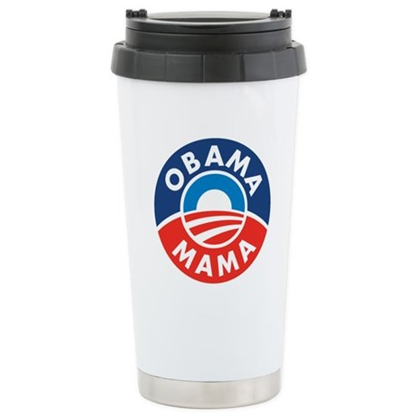 Obama Mama Stainless Steel Travel Mug